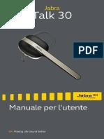 Jabra Talk 30 User Manual_IT_Italian_RevA