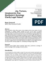 Durkheim (LSA) proof.10