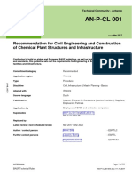 AN-P-CL 001 Recommendation for Civil Engineering and Construction of Chemical Plant Structures and Infrastructure