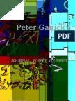 Peter Ganick - JOURNAL