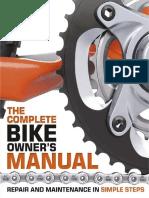 Manual completo de la bicicleta reparacion y mantenimiento en pasos sencillos