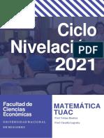 Ciclo Nivelación 2021 Matemática TUAC-1