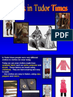 Clothes in tudor times