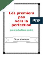 4emecahier de production ecrite