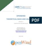 OpenWindTheoryAndValidation