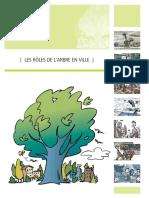 Roles de l'arbre en ville cerfo