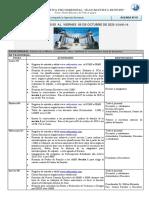 AGENDA SEMANAL Nº 07 del  05  al 09 de octubre 2020