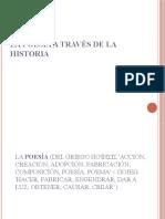 La poesía a través de la historia Illia