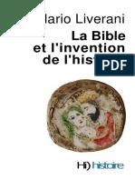 Liverani Mario - La Bible et l'invention de l'histoire _2008_.pdf