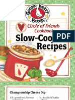 25 Slow-Cooker Recipes by Gooseberry Patch