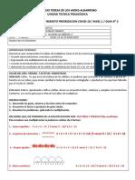 3° 15 al 19 junio Priorizacion Covid-19.