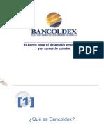 Presentación Bancóldex