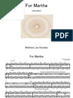 For Martha [piano]