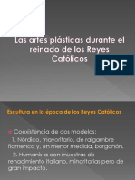 Artes plásticas durante el reinado de los Reyes Católicos .pdf