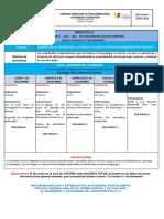 Proyecto 4 - Agenda 4 - BGU