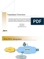 IPv6 Transition Overview