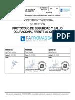 Protocolo de SST COVID 19