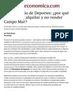 Campo Mar_ ¿por qué a la U le conviene alquilarlo y no venderlo_ _ Semana Económica