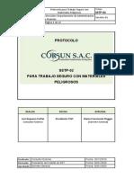 SST-PTC-01 Protocolo para Trabajos Seguros  con Materiales Peligrosos