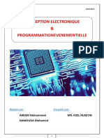 RAPPORT CONCEPTION ELECTRONIQUE