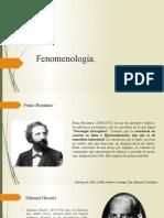 Fenomenología de Edmund Husserl