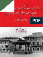 Arrigorriaga_Aportacion mujeres 2012