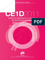 Evaluation certificative - CE1D - 2011 - FranA§ais - Dossier de prA©sentation (ressource 9028)