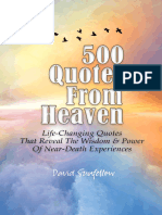 500 Quotes From Heaven_ Life-Changing Quotes That Reveal The Wisdom & Power Of Near-Death Experiences