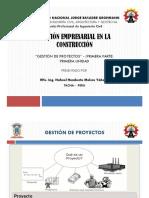 4. Gestión de Proyectos (Parte 1) - Diapositivas