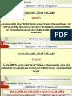 LOCACION DE SERVICIO Y CONTRATO DE OBRA