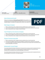 Usedtotech.com - 13 Free Professional Personal Profile CV in Microsoft Word