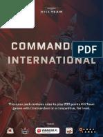 Commanders International