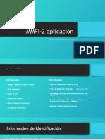 MMPI-2 Resultados Mmpi