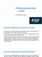 Clase 02 – Diferencia entre ética y moraL