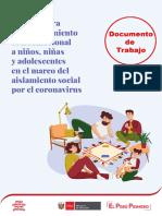 Documento de Trabajo - Cartilla Sociomecional