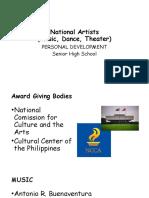 National Artists_dance_theater_music