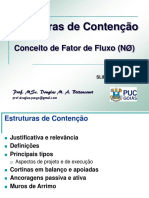 Estruturas de Contenção e Fator de Fluxo