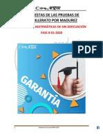 FASE B - MATEMATICAS SIN ADECUACIÓN 01-2020