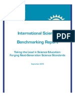 International Science Benchmarking Report