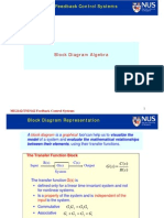 Block Diagram Algebra