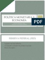 Política monetaria y economía