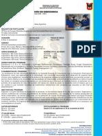 2. Inf. Esp. Endodoncia  2020 - 2021