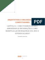 Arquitetura e Organização - 4