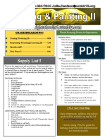 distance learning drawing and painting 2 syllabus