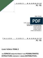 2019 - CLASE 2 - LOGICAS DE DISTRIBUCION ESPACIAL