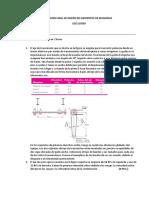 Examen Final de Diseño de Elementos Mecánicos 2020 I