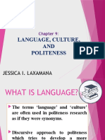 CHAPTER 9-Language, Culture and Politeness