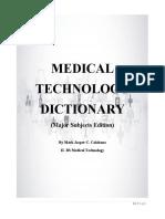 CALABANO_MEDICAL TERMINOLOGIES