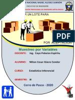 MUESTREO POR VARIABLE ( NILTON CESAR GUERE CONDOR ).pdf
