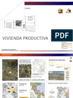 Vivienda Productiva, Planos y Propuesta Urbana